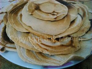 L'autre face des pancakes IG bas