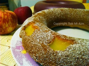 Gâteau aux pommes IG bas