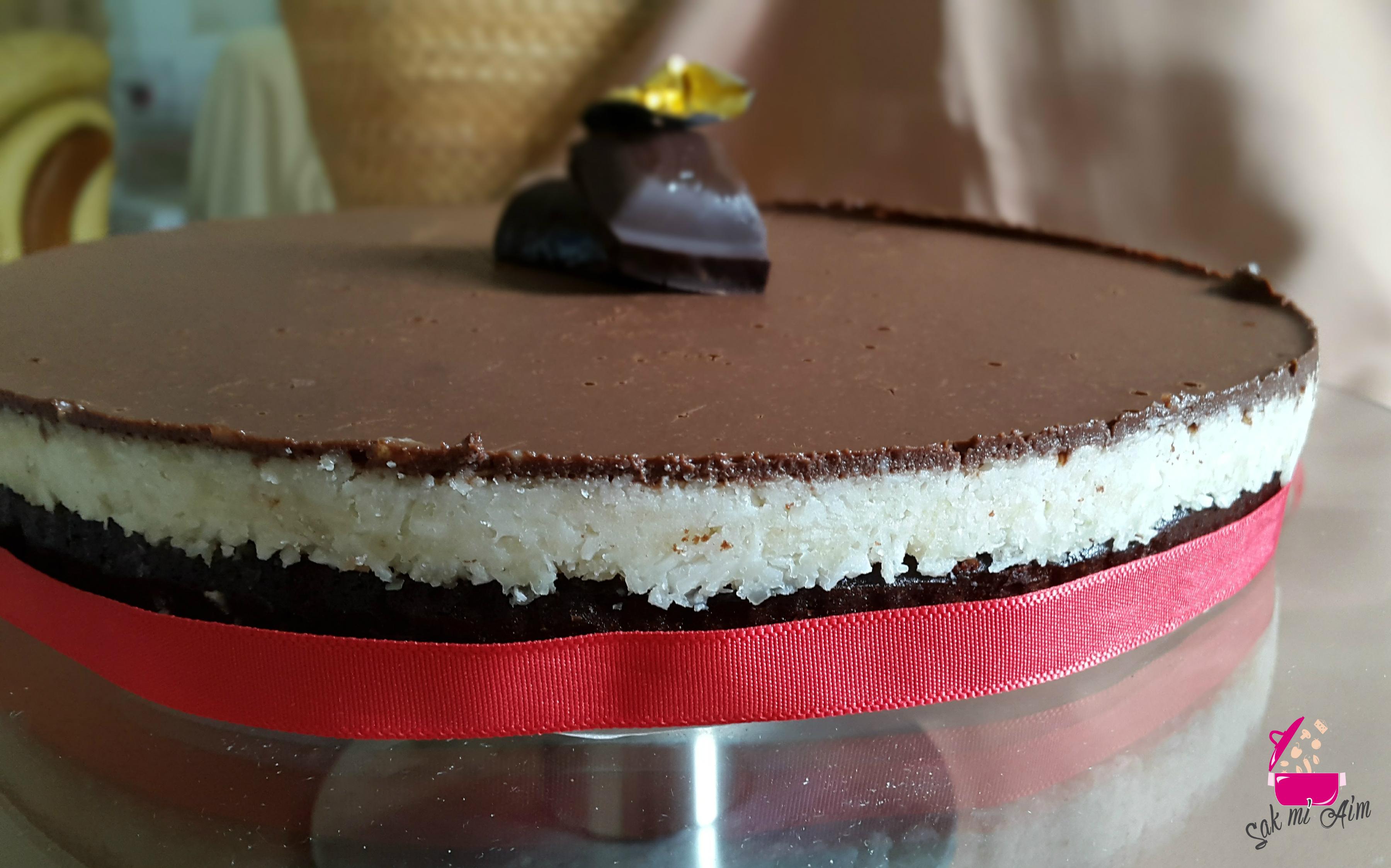 Ganache Au Chocolat Noir Pour Un Layer Cake Vegan
